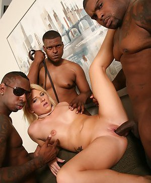 Free Interracial Gangbang Pictures